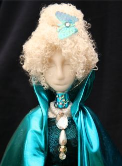 Art Doll Spirit Doll Butterfly Lady by StarFields