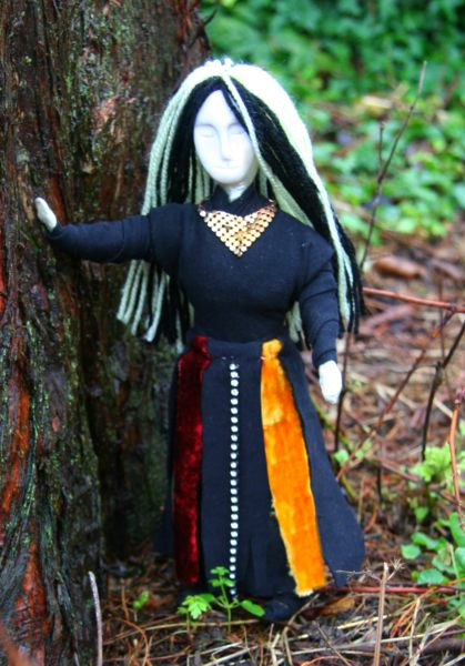 Wild Tansy Spirit Doll by SFX