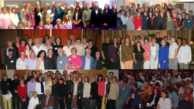 Energy Healer Collage - EmoTrance Energy Healers from all over the world