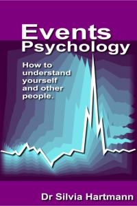 Events Psychology Book by Dr Silvia Hartmann
