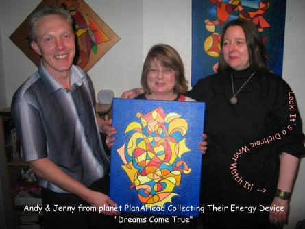 Symbol painting dreams come true with Andy, Jenny and Silvia