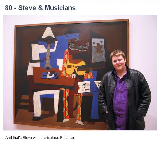 Picasso the musicians gets the seal of approval from steve kent