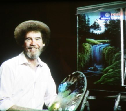Bob Ross Joy Of Painting On TV