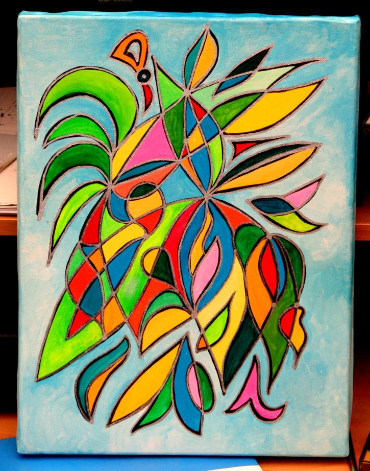Symbol Painting Flowering by SFX