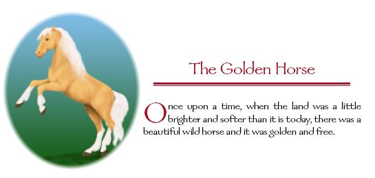 Fairy Tales Illustration - The Golden Horse by Silvia Hartmann