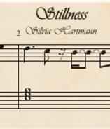 Songwriting score preview image from Stillness folk song